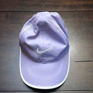 Nike feather light Dri fit hat.  Lavender